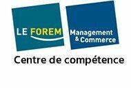 Logo du Centre de compétence Forem Management & Commerce