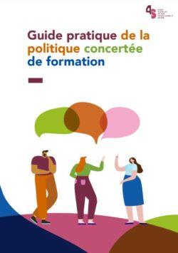 Couverture - Guide pratique de la politique concertée de formation